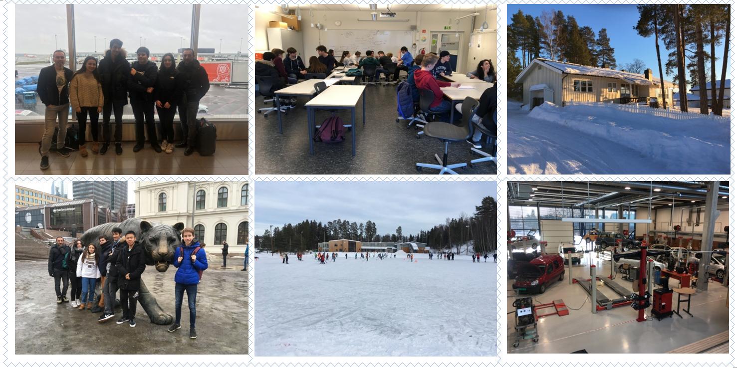Erasmus DIIP mobilité Norvège
